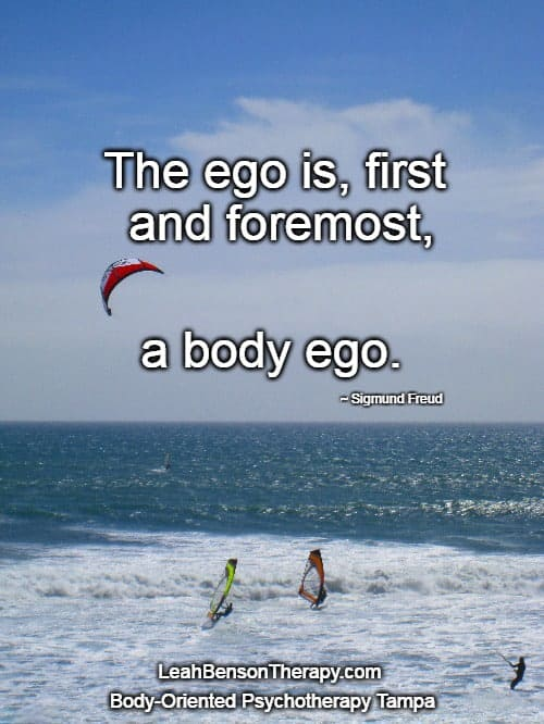 LeahBensonTherapy.com Blog Post Healthy Ego