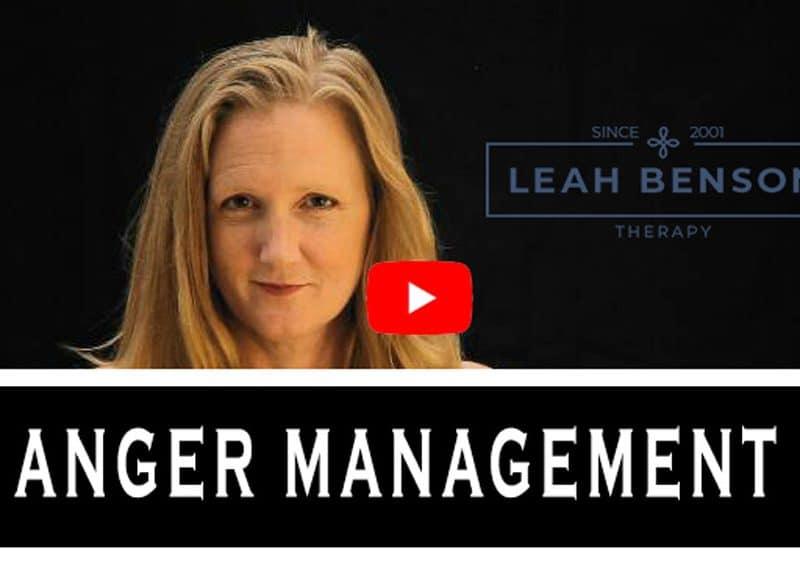 Anger Management video with Leah Benson Therapy
