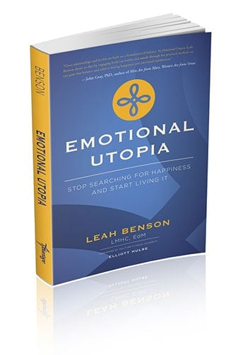 Emotional Utopia Book by Leah Benson, Tampa Licensed Psychotherapist