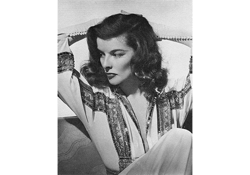 How to Have Poise Photo of Katharine Hepburn