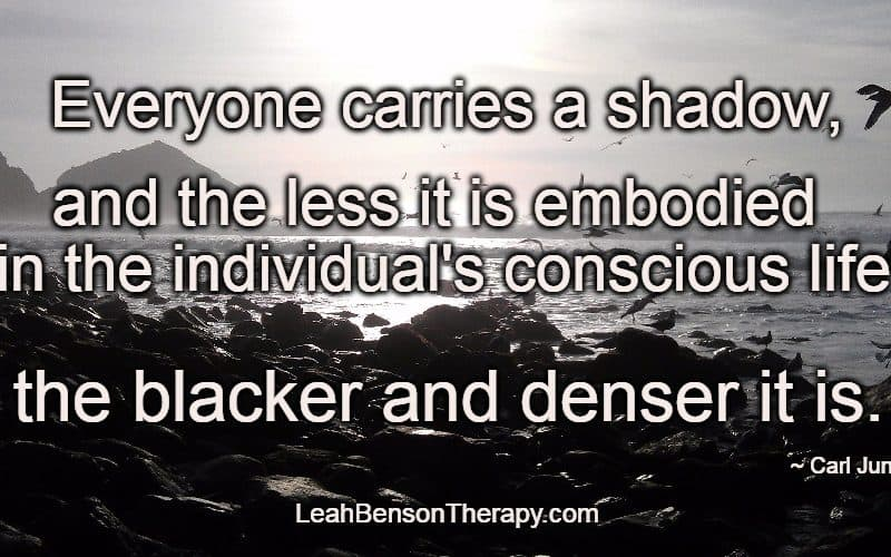 Your Shadow, Leah Benson Therapy Psychotherapy Services