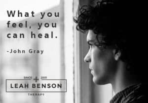 express your feelings and heal
