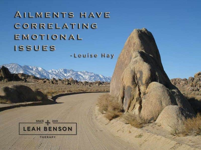 Photo of the Alabama Hills with the quote,