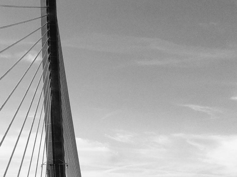 Photo of Sunshine Skyway bridge with Leah Benson Therapy logo