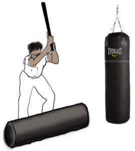 Bioenergetic pounding with heavy bag