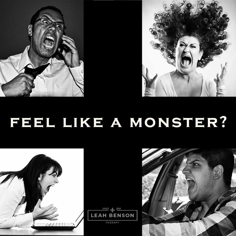 feel like a monster
