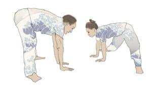 Bioenergetic dyad exercise
