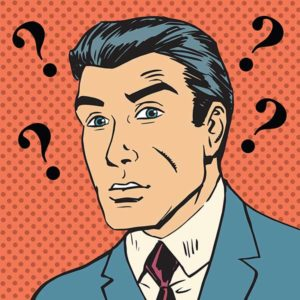 man questioning emotional intelligence