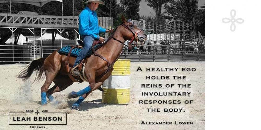 A Healthy Ego Holds the Reins