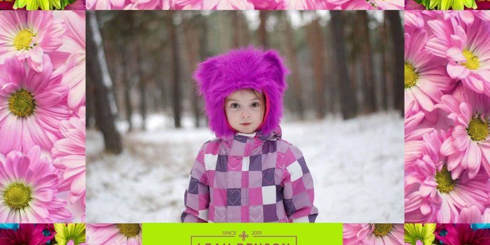 photo of cute little child