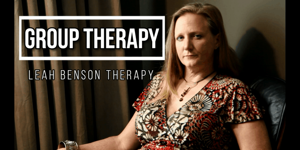 Group Therapy video and blog by Leah Benson Therapy
