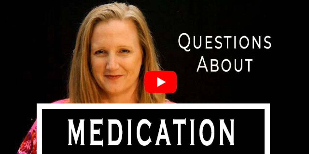Leah Benson Therapy video answering questions about medication.